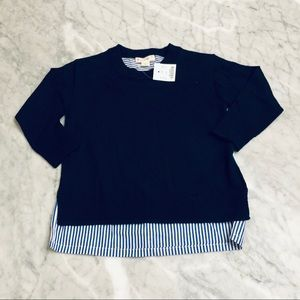 🌸 Crewcuts Preppy Merino Oxford Sweater 2T